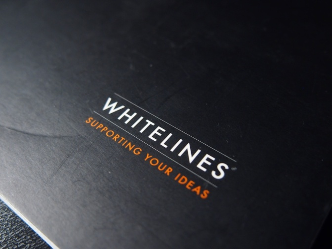 Whitelines Grid Notebook – A4 Size – Handwritten Stationery Review