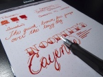 Noodler's Cayenne - Page 2 - Angle & Lamy Safari