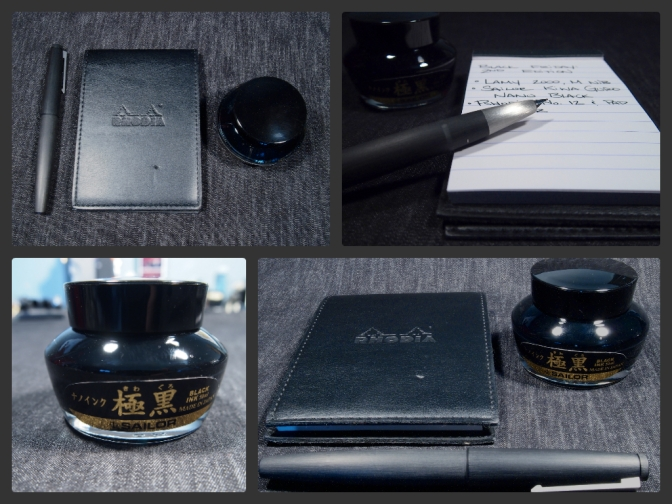 Black Friday, 2nd Edition – Lamy 2000, Sailor Kiwa Guro Nano Black, and Rhodia No. 12 Pad & Cover