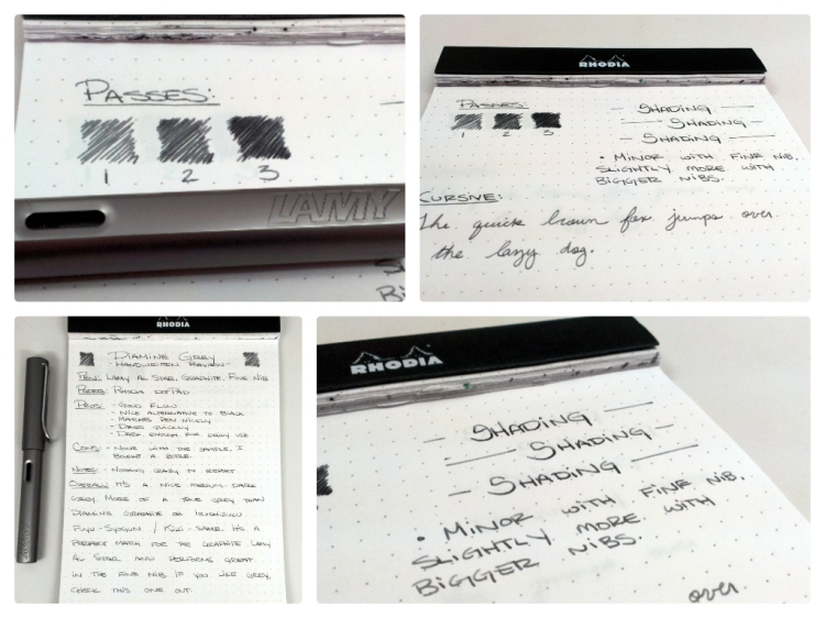 Diamine Grey Handwritten Ink Review Edjelley Com Fountain Pen Ink And Stationery Reviews