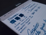 Noodler's Bad Blue Heron - Handwritten Review - Passes