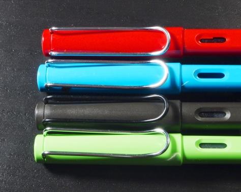 Lamy Safari Fountain Pen Review Clip
