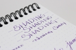 Diamine Majestic Purple - Shading