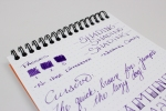 Diamine Majestic Purple- Angle 2