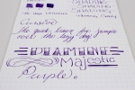 Diamine Majestic Purple - Bottom 2
