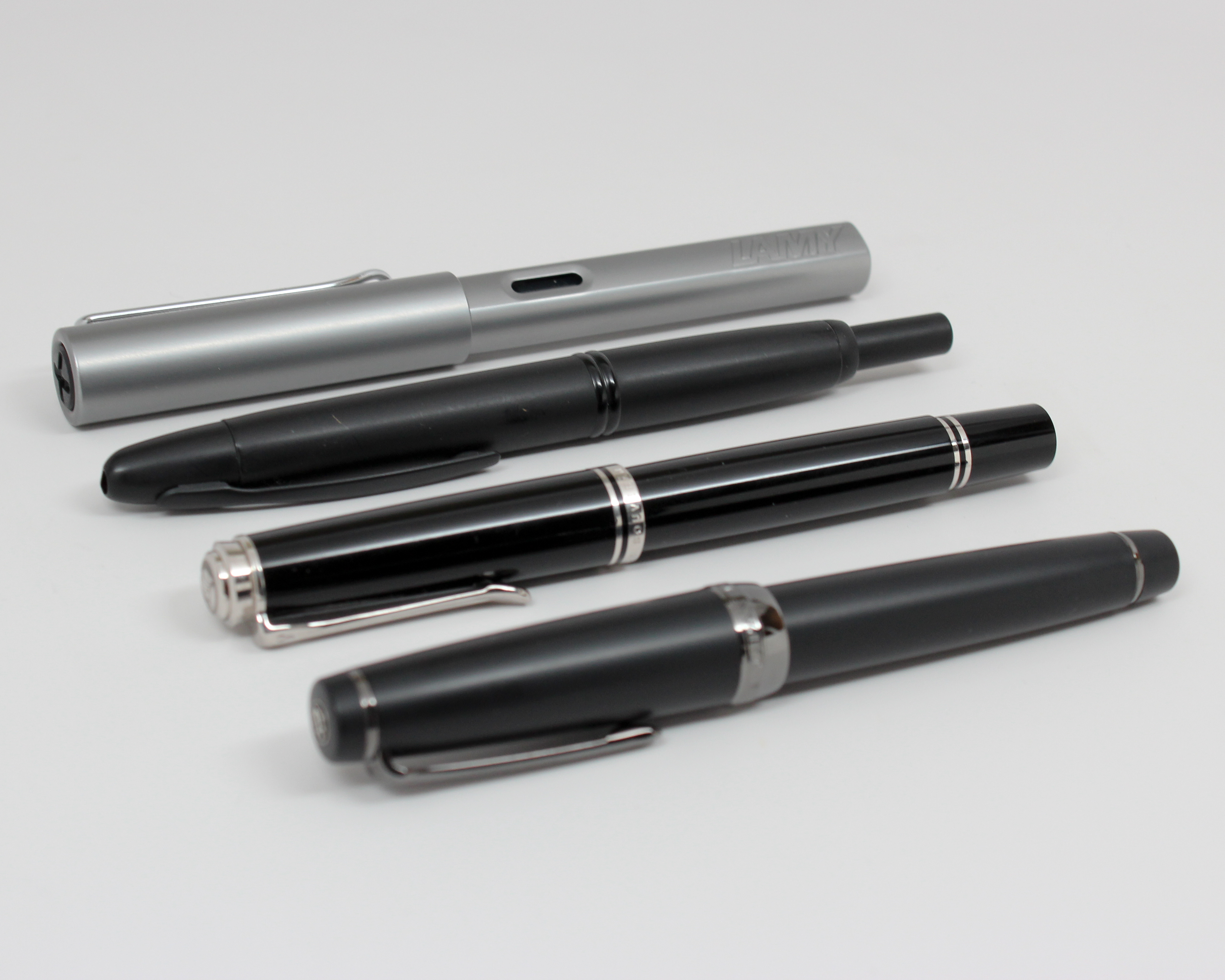 -Clear Transparent Pilot Kakuno FKA-1SR-M Fountain Pen Medium Point Prime Day