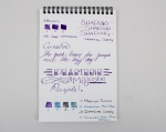 Diamine Majestic Purple - Page 2 Front