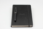 Sailor 1911 Professional Gear Imperial Black Edition - Pen on Rhodia WebNotebook