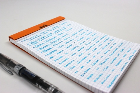 Rhodia Number 16 Graph Pad Review