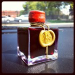 J. Herbin 1670 Rouge Hematite Bottle