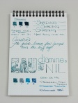 Diamine Eau de Nil Handwritten Review 8
