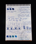 J. Herbin 1670 Bleu Ocean Ink Handwritten Review 2
