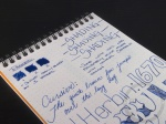 J. Herbin 1670 Bleu Ocean Ink Handwritten Review 5