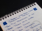 J. Herbin 1670 Bleu Ocean Ink Handwritten Review 7