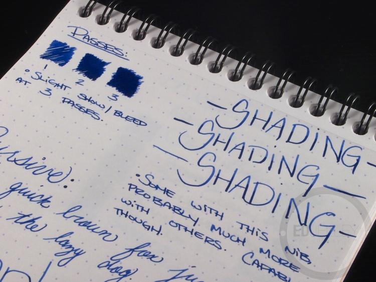 J. Herbin 1670 Bleu Ocean Ink Handwritten Review 9