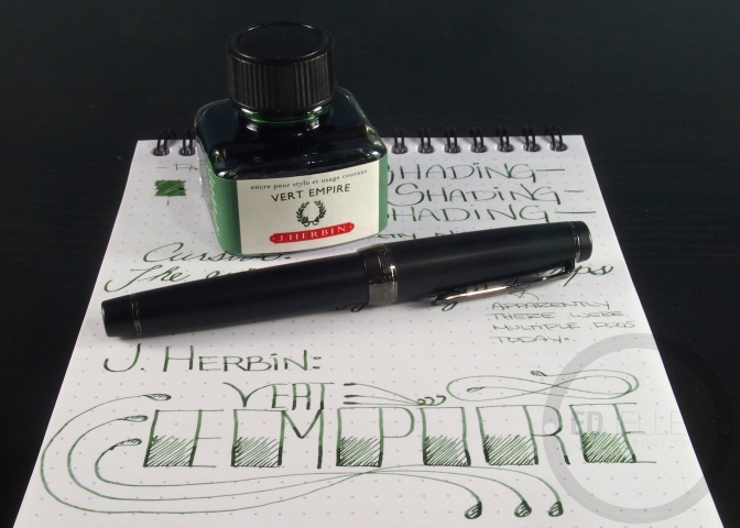 J. Herbin – Vert Empire – Handwritten Ink Review
