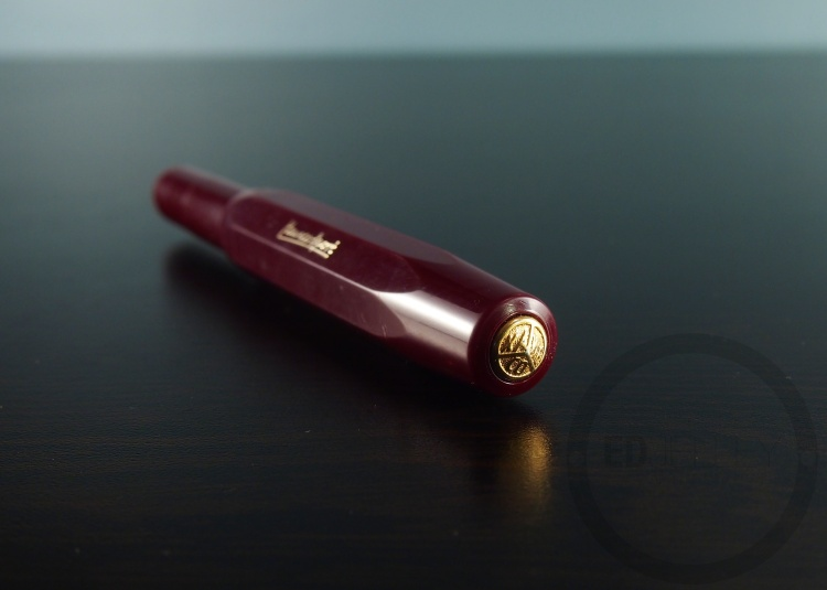 Kaweco Sport Burgundy Fountain Pen Handwritten Review 10