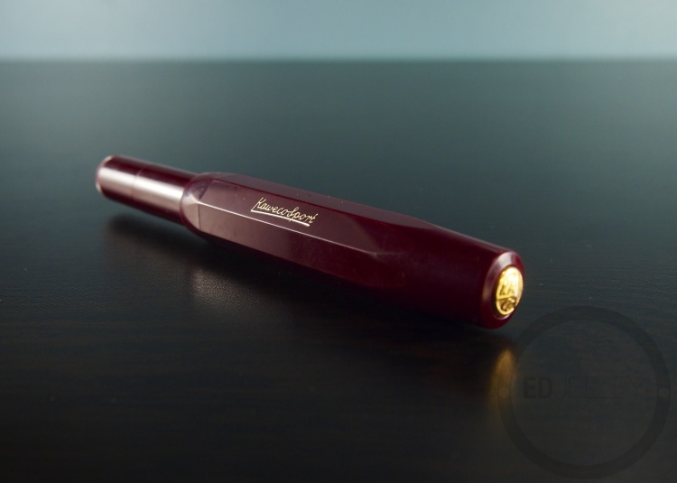 Kaweco Sport Burgundy Fountain Pen Handwritten Review 11