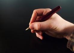 Kaweco Sport Burgundy Fountain Pen Handwritten Review 14