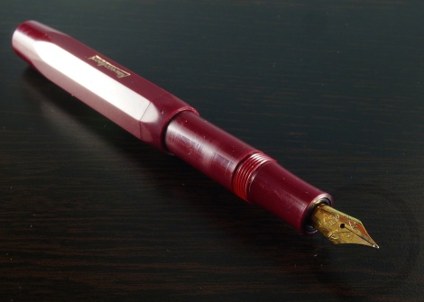 Kaweco Sport Burgundy Fountain Pen Handwritten Review 8