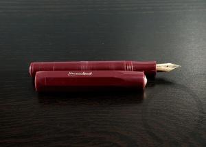 Kaweco Sport Burgundy Fountain Pen Handwritten Review 9