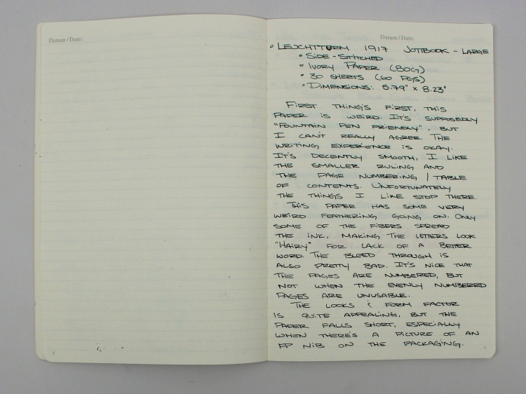 Leuchtturn Jottbook Review 8