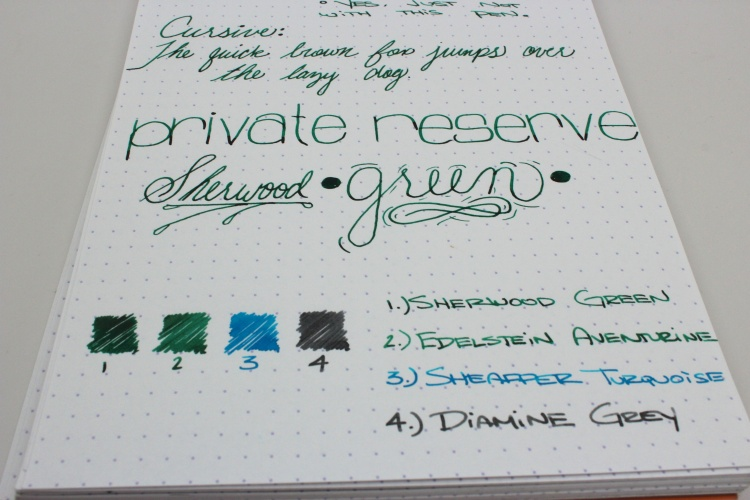 Private Reserve Handwritten Review 5