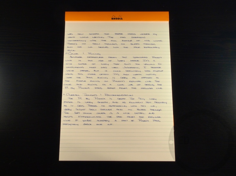 R by Rhodia No 18 Stationery Review 6