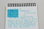 Sheaffer Turquoise Handwritten Review 7