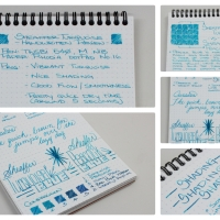 Sheaffer Turquoise - Handwritten Ink Review