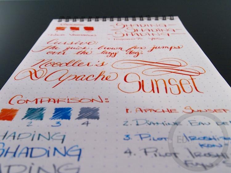 Apache Sunset Handwritten Ink Review 039 6