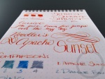 Apache Sunset Handwritten Ink Review 040 7
