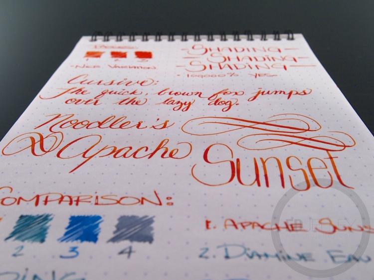 Apache Sunset Handwritten Ink Review 040 7