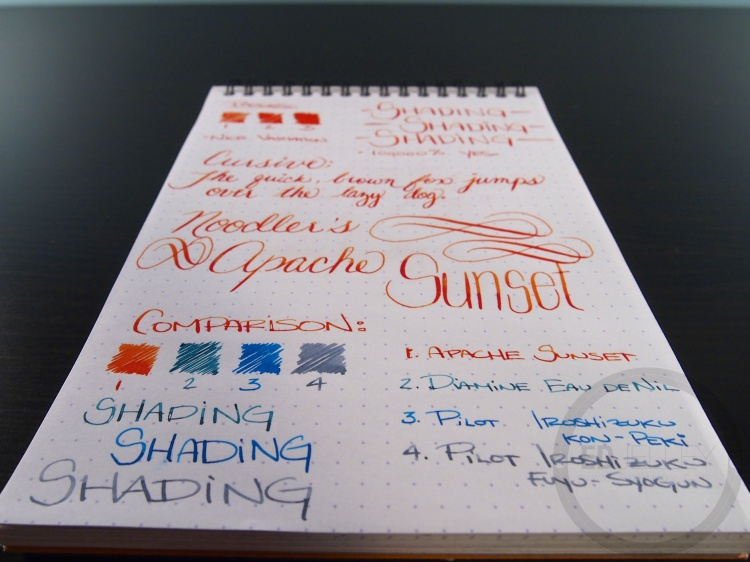 Apache Sunset Handwritten Ink Review 041 8