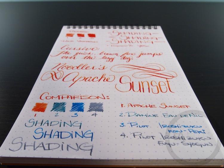 Apache Sunset Handwritten Ink Review 041 8