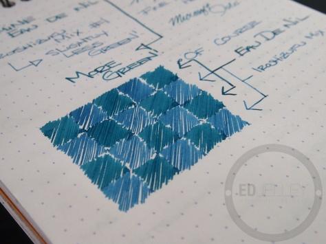 Iroshizuku Ink Mix Handwritten Review 063 9