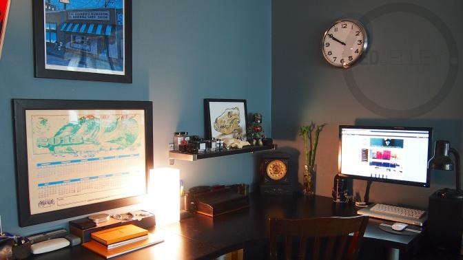 My Desk Setup – Where do you sit?