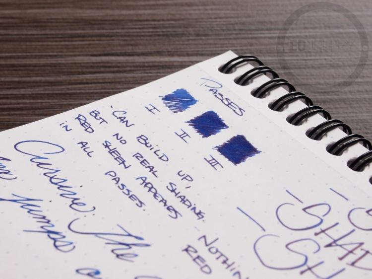 Diamine Sargasso Sea Foutnain Pen Ink 5