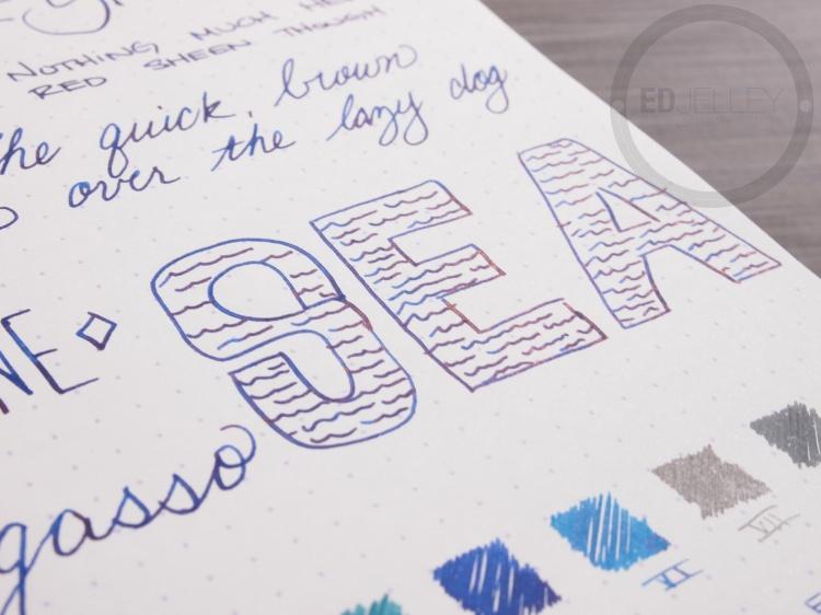 Diamine Sargasso Sea Foutnain Pen Ink 7