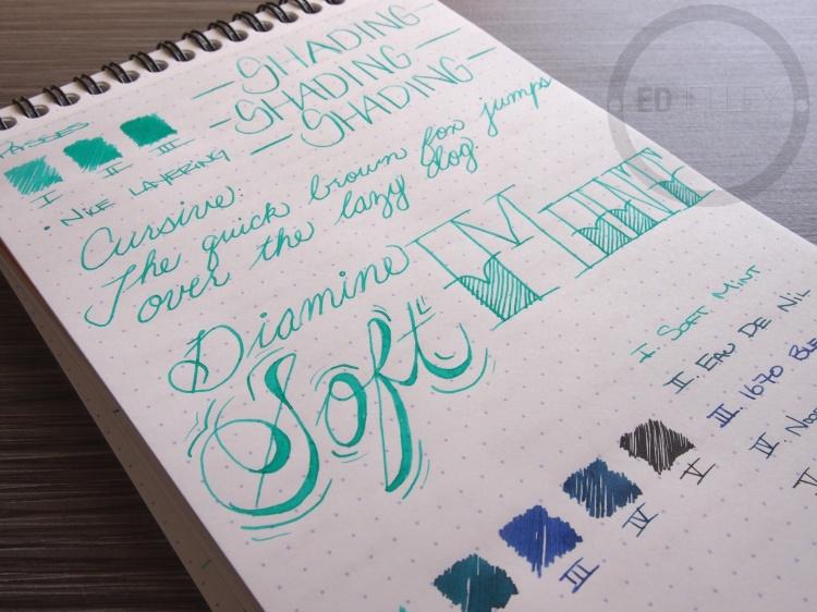 Diamine Soft Mint Fountain Pen Ink 10