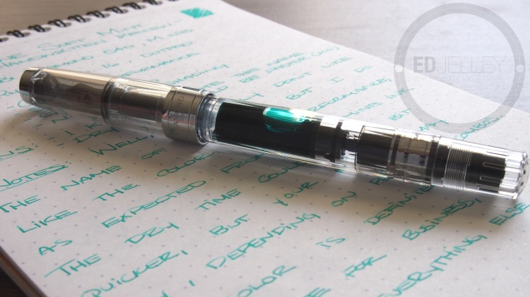 Diamine Soft Mint Fountain Pen Ink 13
