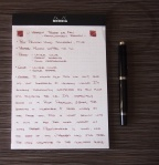J. Herbin Terre de Feu Fountain Pen Ink Review 2