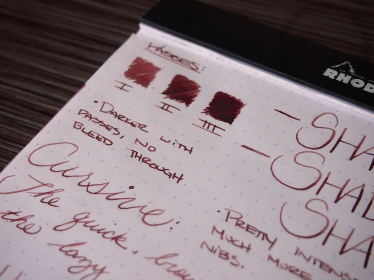 J. Herbin Terre de Feu Fountain Pen Ink Review 8