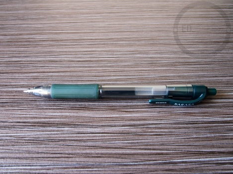 Zebra Sarasa 0.7mm Dark Green Gel Ink Pen Review 14