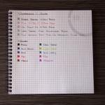 Zebra Sarasa 0.7mm Gel Ink Pen Review 3