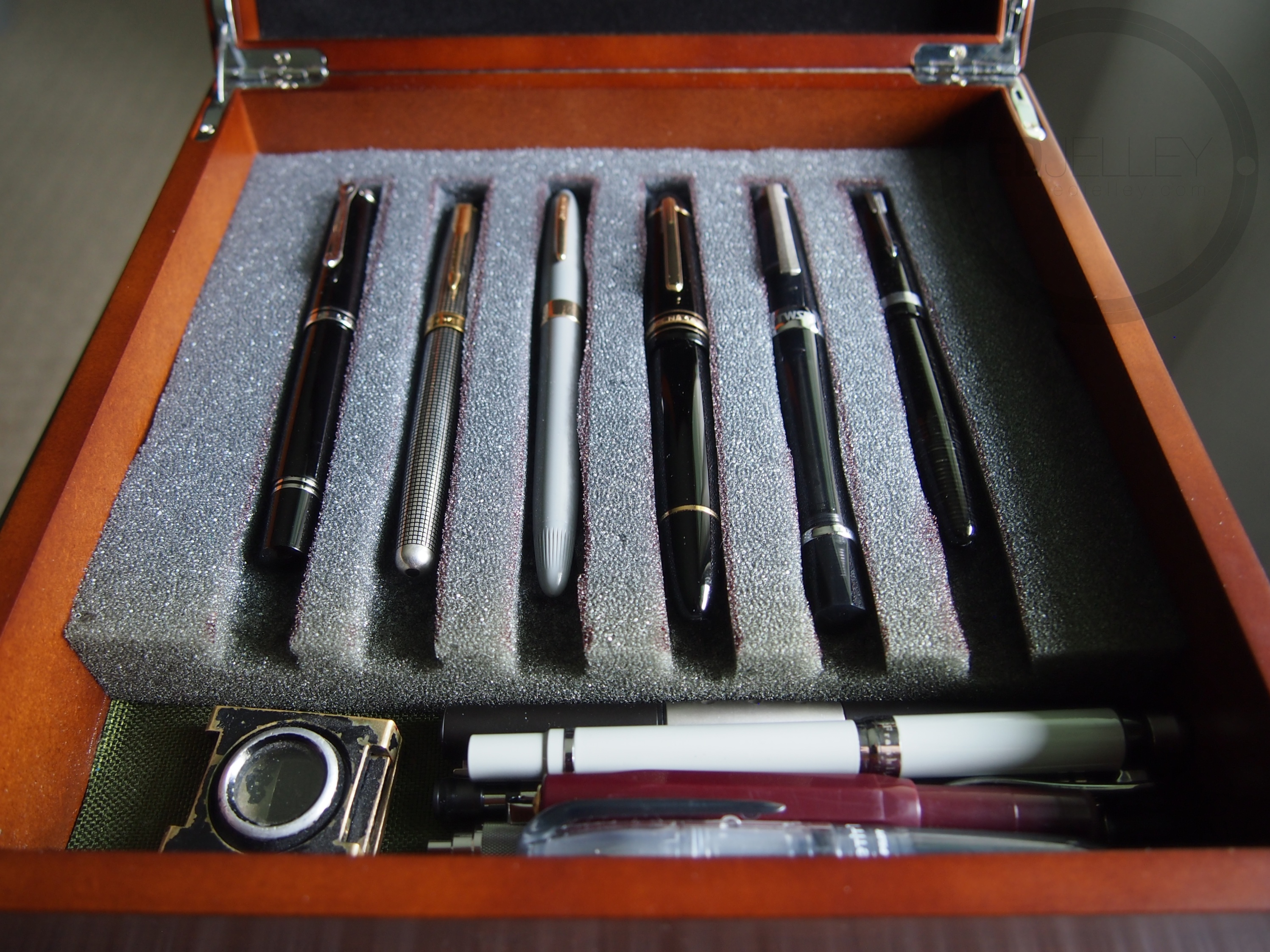Well-liked Pen Storage – DIY and Cheap! – edjelley.com – Fountain Pen, Ink  XT78