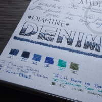 Diamine Denim - Handwritten Ink Review