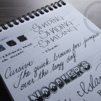 Noodler's Ellis Island Blue Black - Handwritten Ink Review
