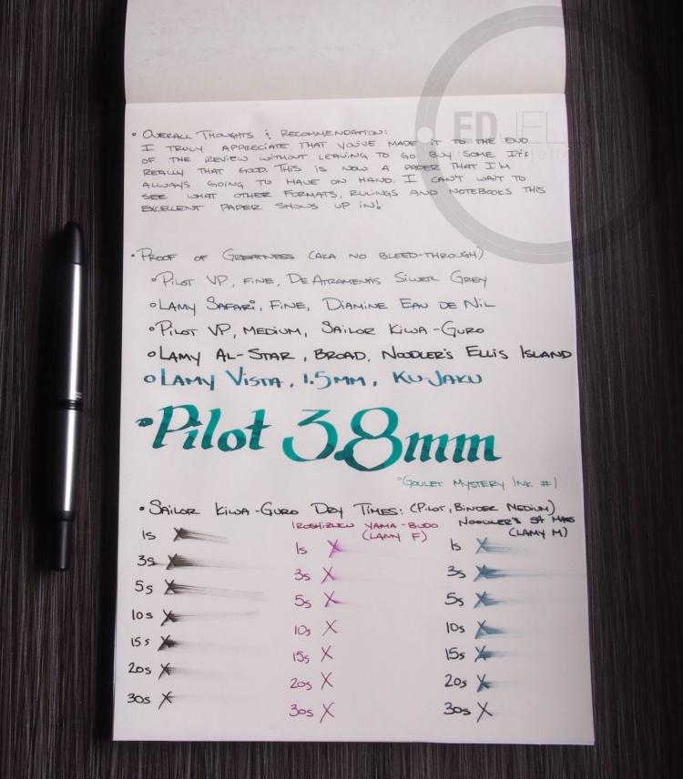 Seven Seas Tomoe River Paper Pad 11