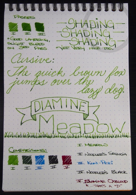 Diamine Meadow 2
